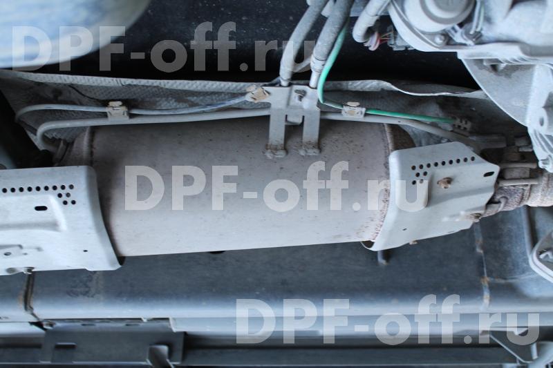 Удаление сажевого фильтра RR Sport 3.0TD