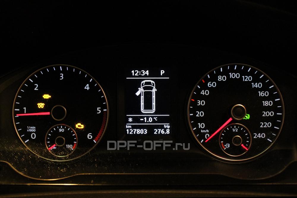 Удаление сажевого фильтра на VW Caravelle 2.0 TDI T5 / Фольксваген Каравелла 2.0 дизель