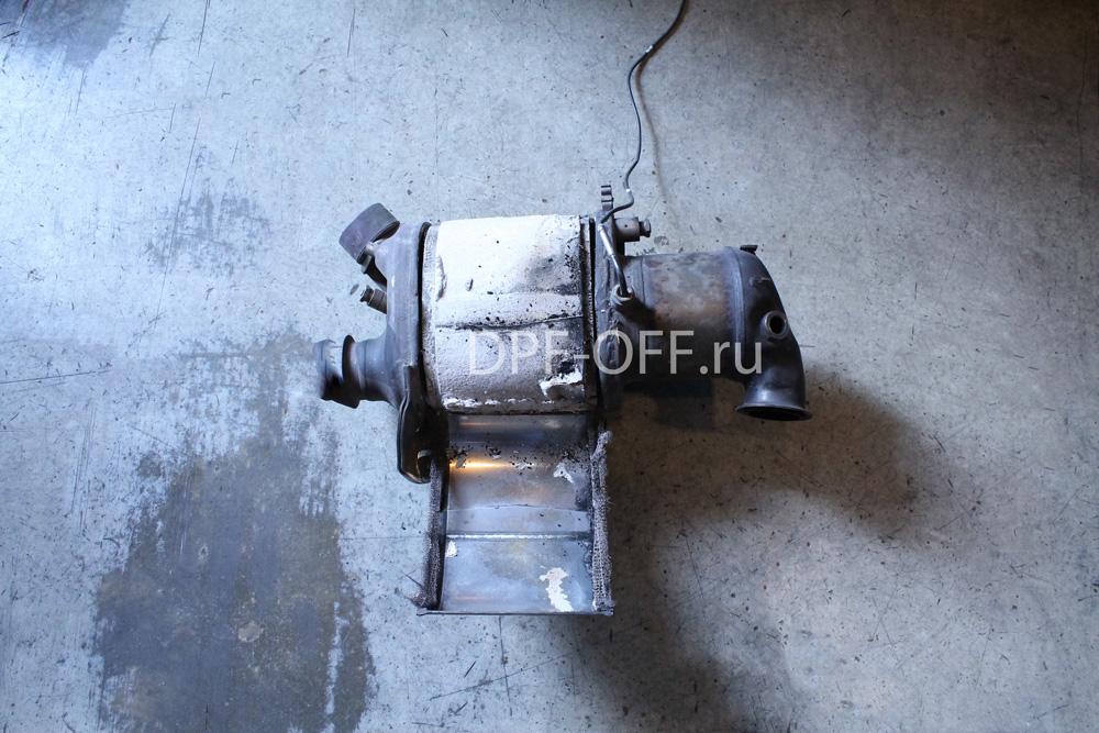 Удаление сажевого фильтра на VW Multivan T5 2.0 TDI / фольксваген мультиван 2.0 дизель