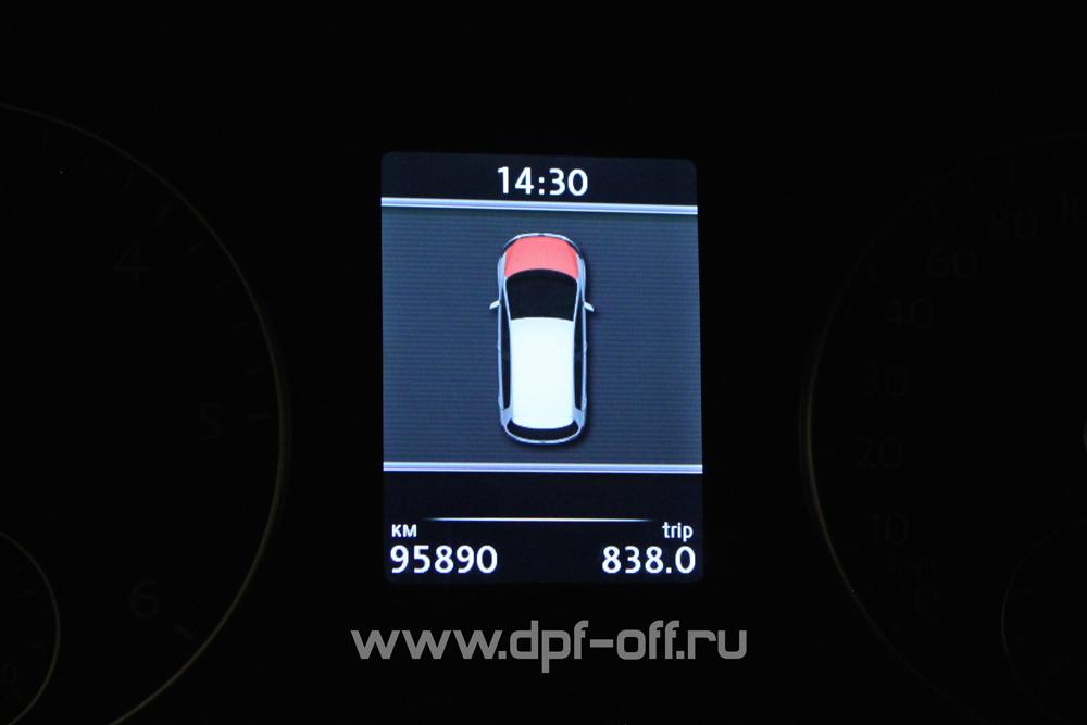 Удаление сажевого фильтра на Volkswagen Touran 2.0 TDI / Фольксваген Тауран 2.0 дизель